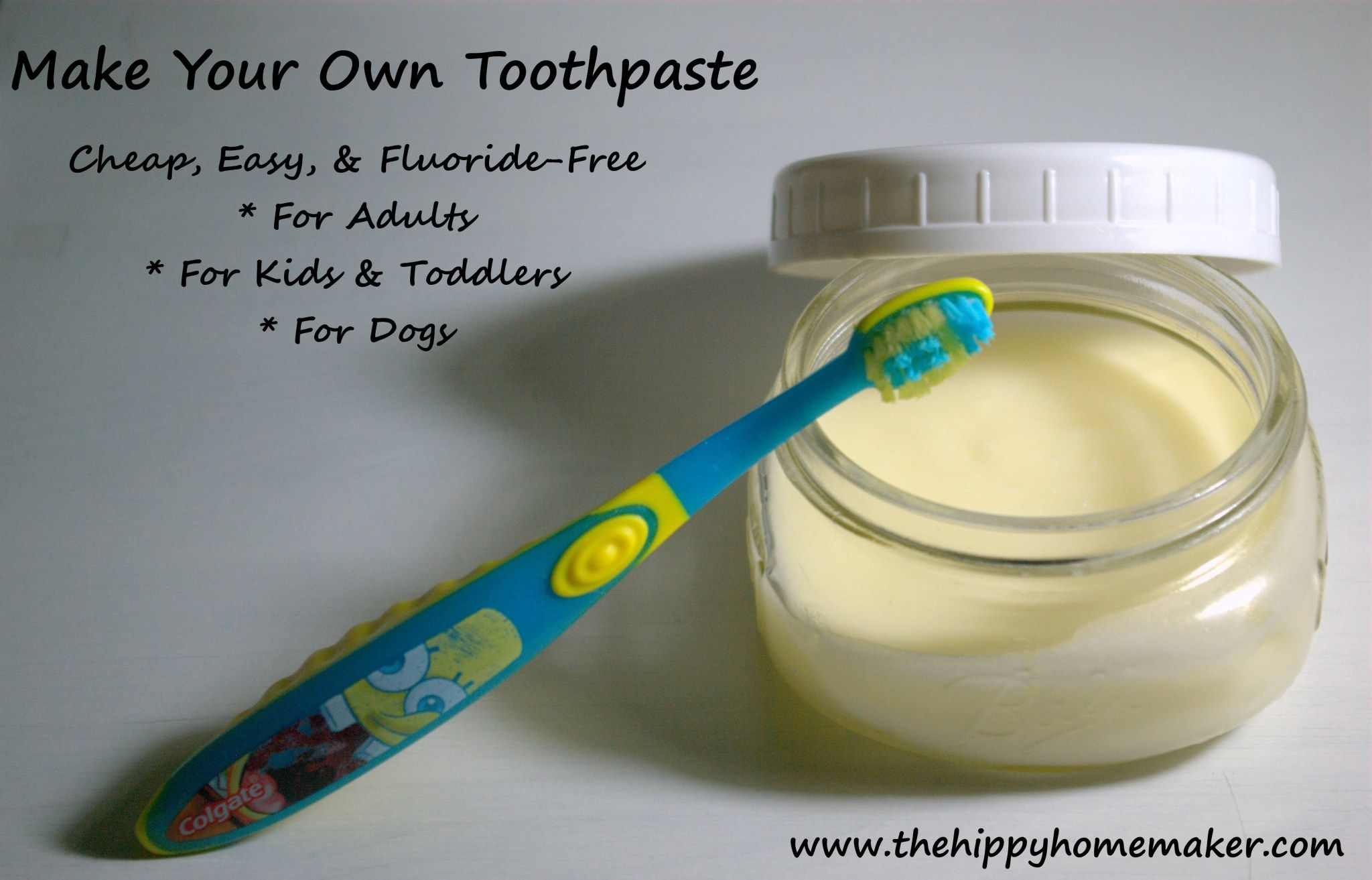 Make Your Own Toothpaste For Your Kids Your Dogs And Yourself