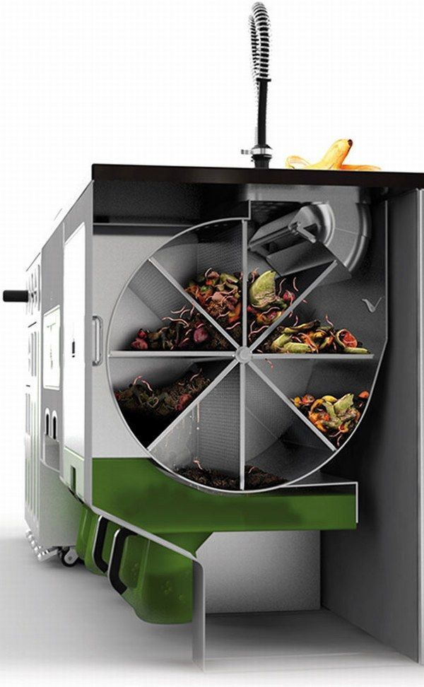 Ekokook Perhaps The Future In Kitchen Design Freshome Com Green Kitchen Designs Home Building Design Kitchen Design