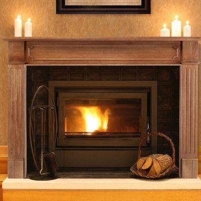 The Alamo Fireplace Mantel Surround Fireplace Mantels Mantel