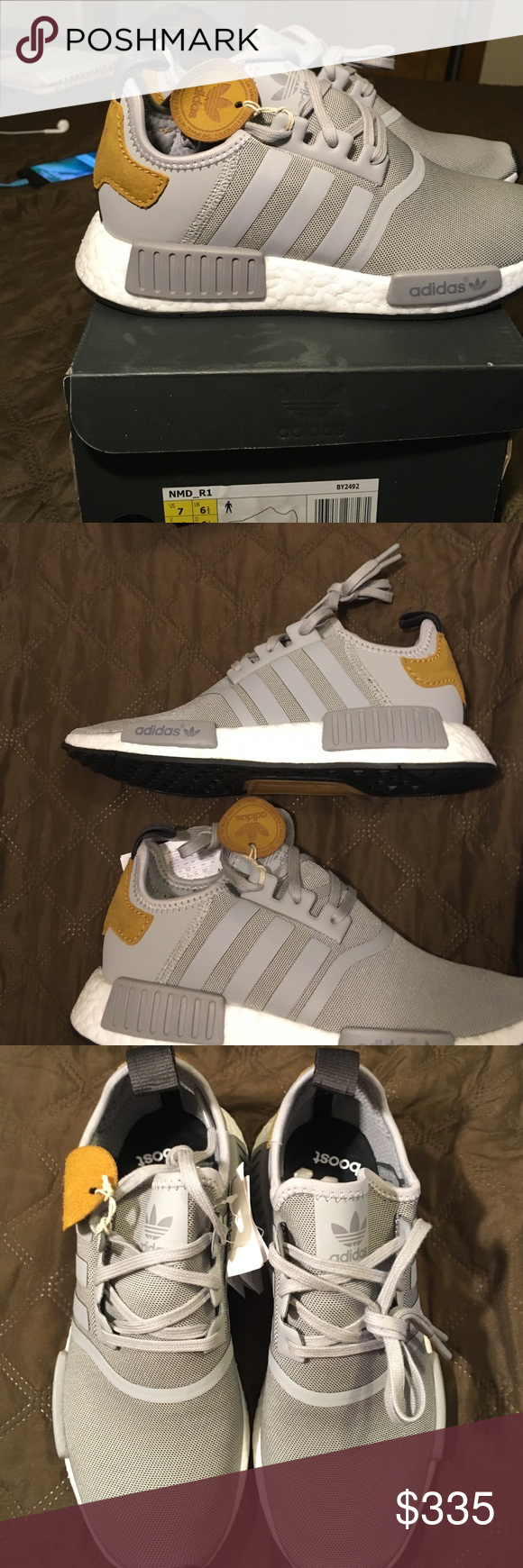 Adidas NMD MasterCraft Women's Sz 8 or Men's 7 Ignore listing price and msg for better prices.     Brand new authentic pair of a hard to find/rare Adidas NMD colourway.  If you like the shoe but it's not your size please msg me and I can find it. Adidas Shoes Sneakers