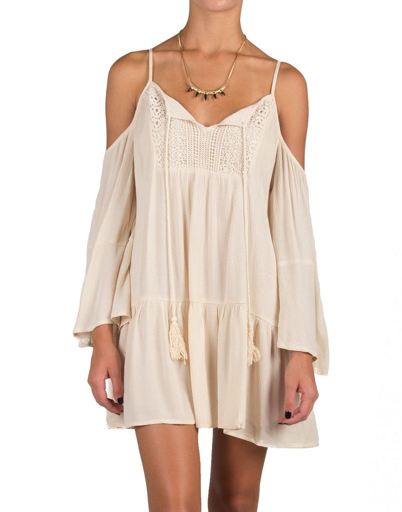 6dc5fd2115 Boho Cold Shoulder Tunic Dress | Things I want to buy SOON | Dresses ...