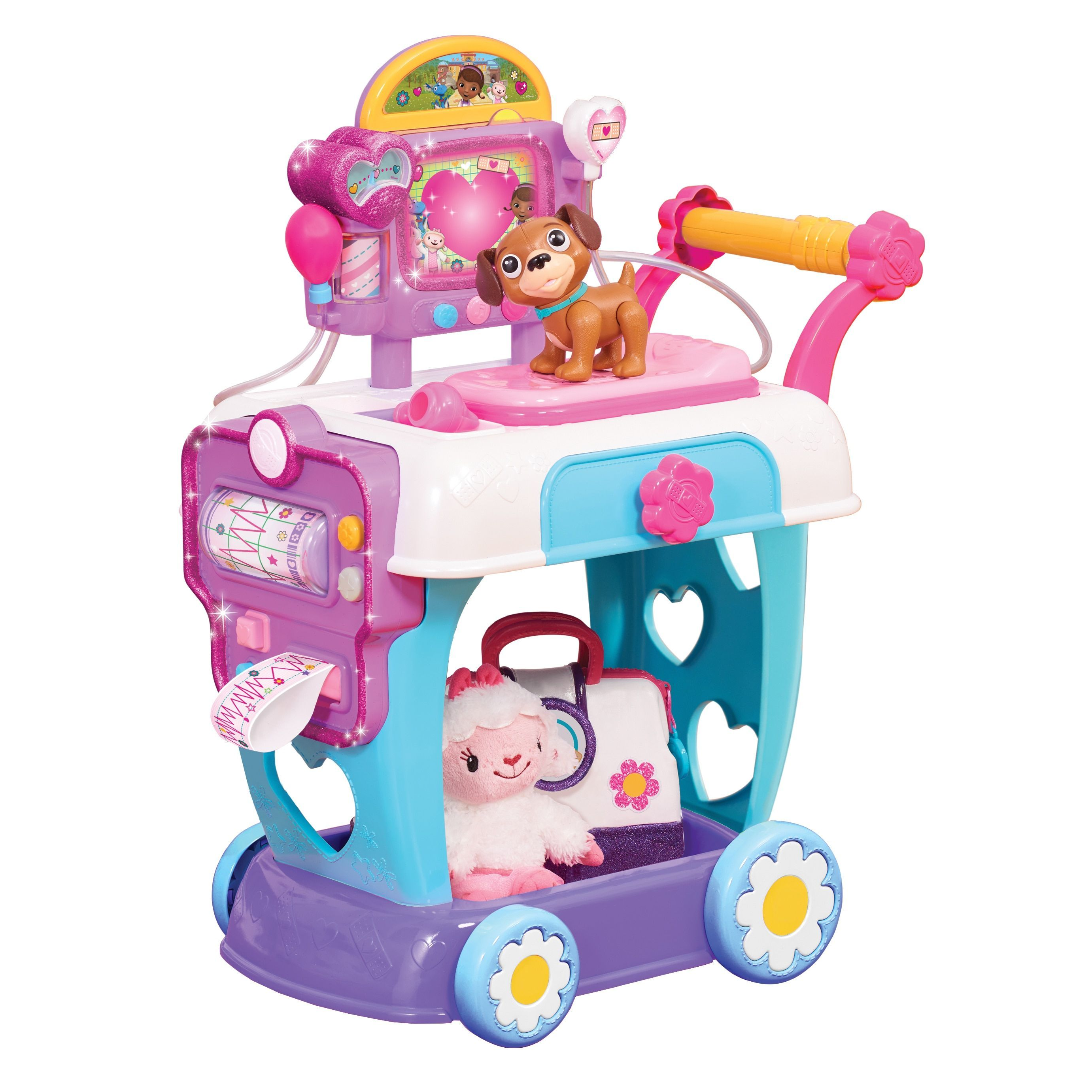 cc70d086620 Doc McStuffins Plastic Toy Hospital Care Cart (G886144920967)