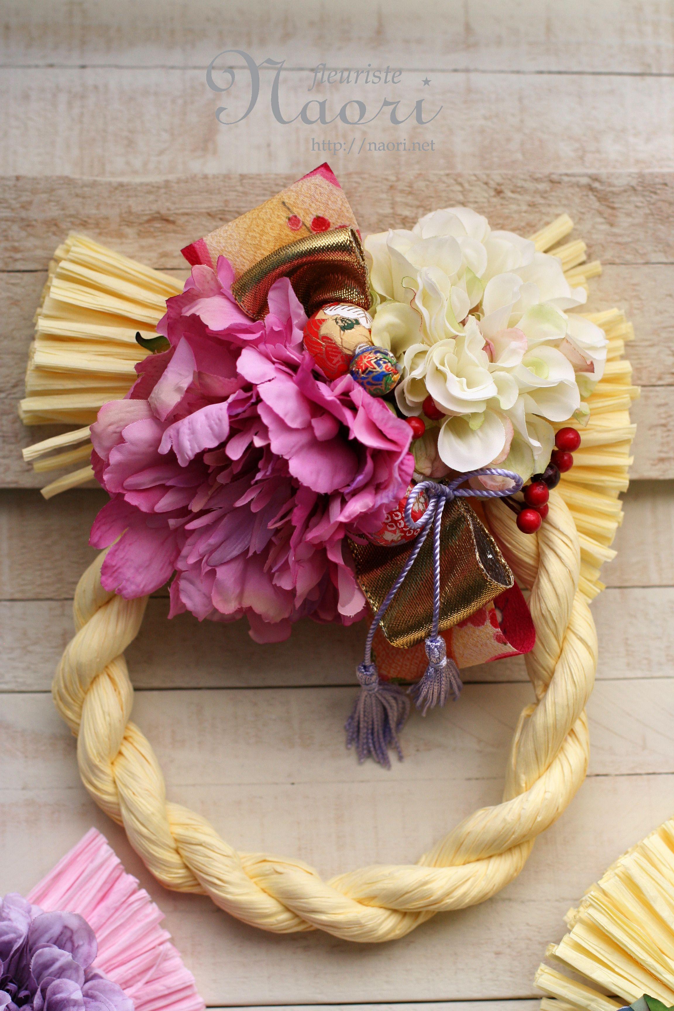 Japanese New Year wreath 2014 お正月アレンジ, お正月 飾り, 正月