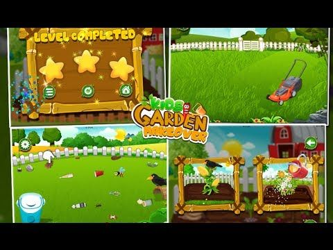 Watch Game Play Video Of Kids Garden Makeover Kidsgame Free