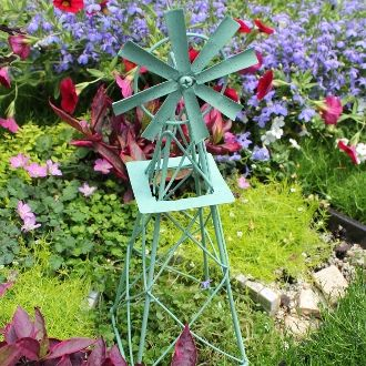 Windmill for Fairy Garden (Click Options for Colors)