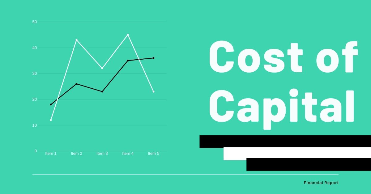 Cost Of Capital Cost Of Capital Managing Finances Financial Institutions
