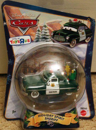 Disney Pixar Cars Holiday Spirit Sheriff Die Cast Christmas Car By