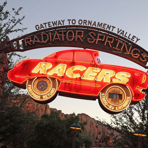 Radiator Springs Racers at Disney California Adventure Park | 14 Disney Rides…