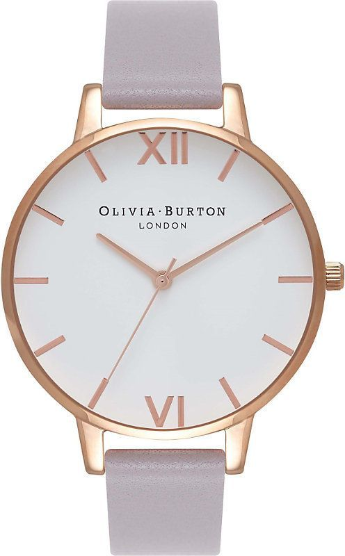 fdcd9e1f6 Olivia Burton OB16BDW16 rose-gold and leather watch | women's ...