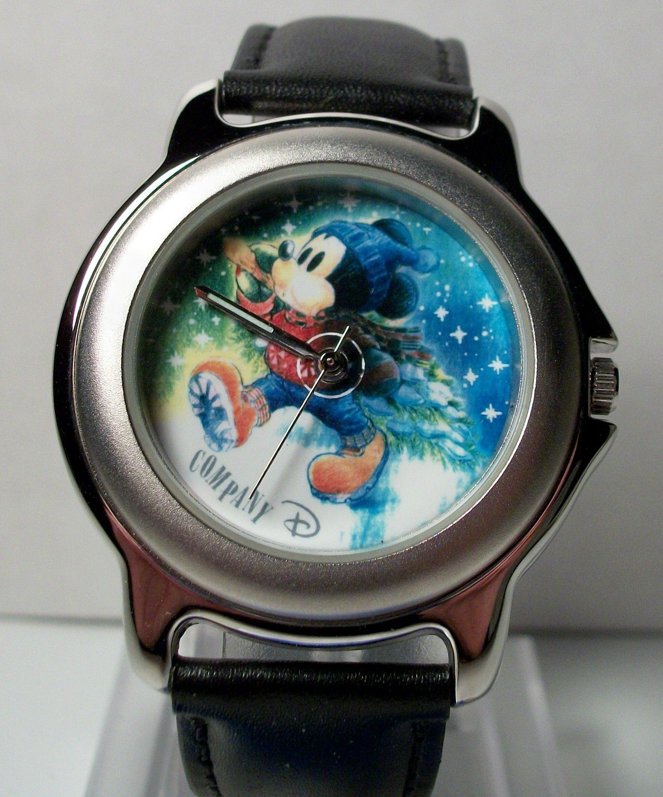 Disney @Very Rare@ Christmas Mickey Mouse Watch! New! Hard To  Find! picclick.com