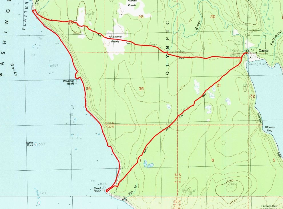 trip report ozette loop olympic national park nwtrips