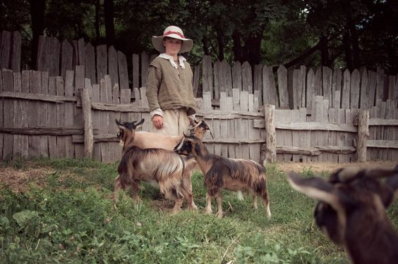 Pilgrim slideshow of daily life | New england day trips ...