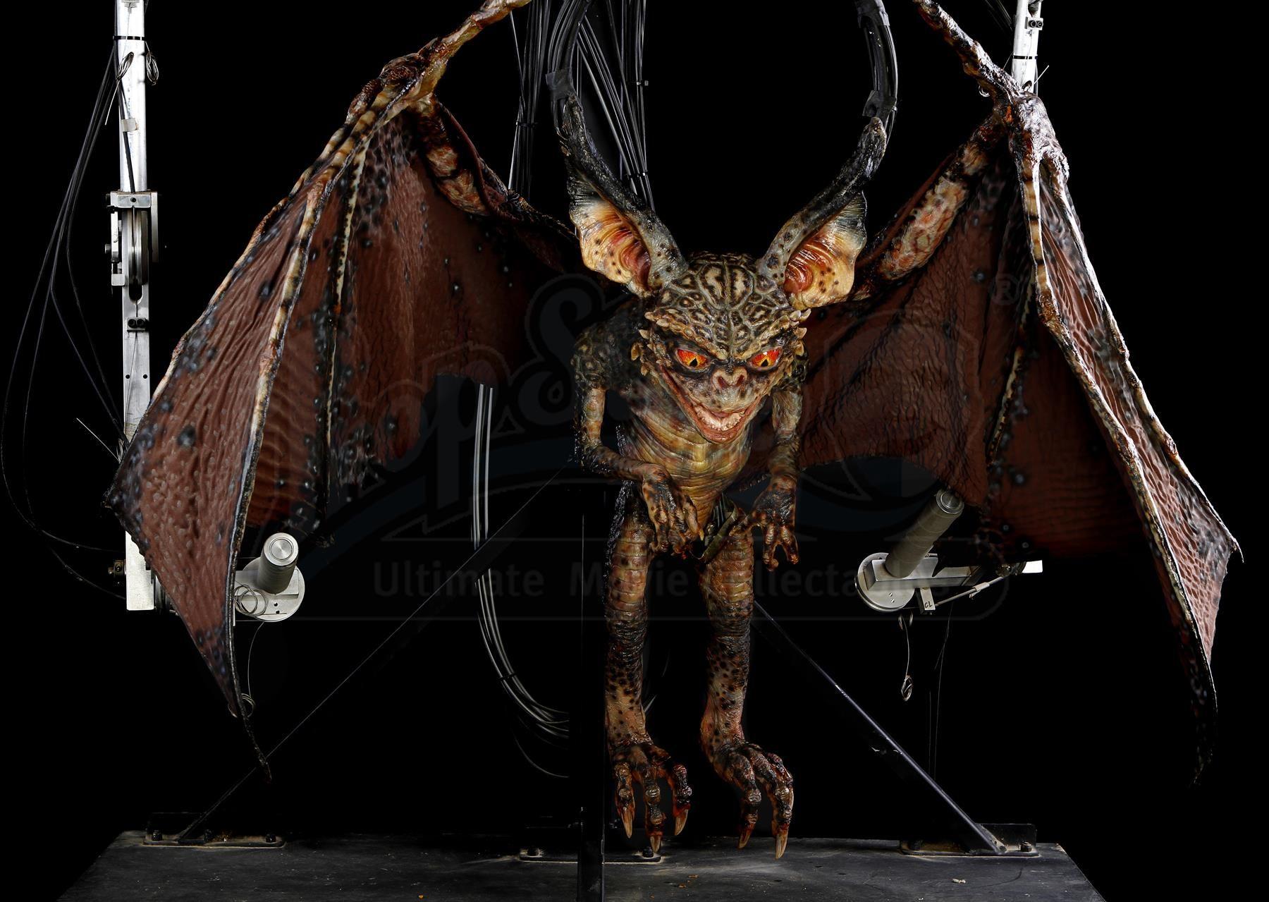 GREMLINS 2: THE NEW BATCH (1990) - Mechanical Bat Gremlin Puppet - Price Estimate: $6000 - $8000