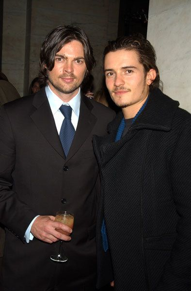 Karl Urban and Orlando Bloom....brb. I'm going to go faint :)
