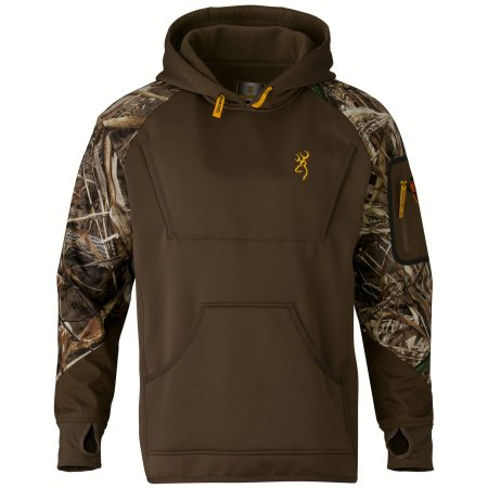 Life at Full Draw Bow Hunter Outdoors Sweatshirt Lifestyle Graphix Stealth Medium