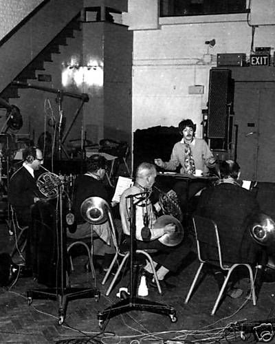 Paul Conducting During The Sgt Pepper Sessions A Day In The Life Perhaps The Beatles The Beatles 1 Sgt Peppers Lonely Hearts Club Band