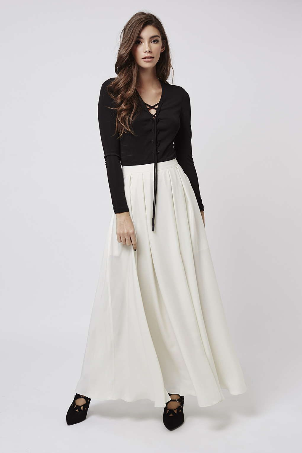 Photo 3 of **Maxi Skirt By Kendall + Kylie at Topshop
