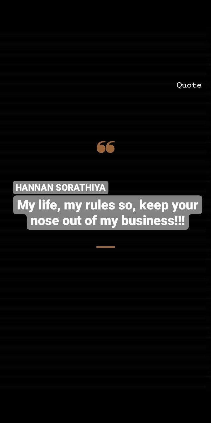 Hannan Sorathiya In 2020 Funny Girl Quotes Best Quotes Attitude Quotes