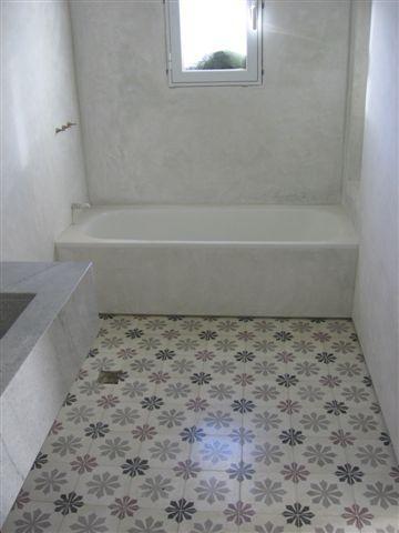 Fondo de dibujo en ba os mosaicos calcareos hidraulicos - Mosaicos para banos ...