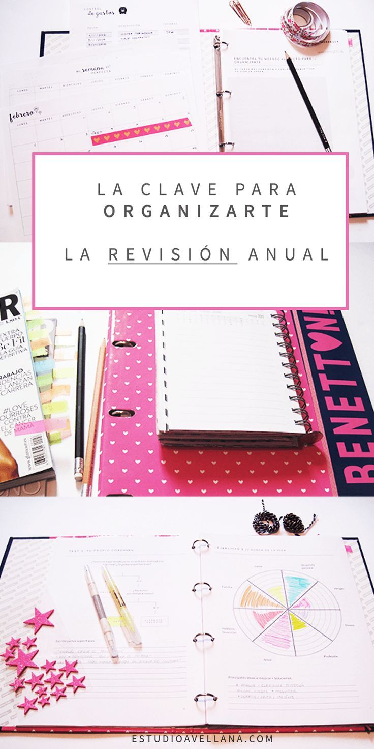 La revisión anual y sus beneficios | Estudios, Planificadores y ...