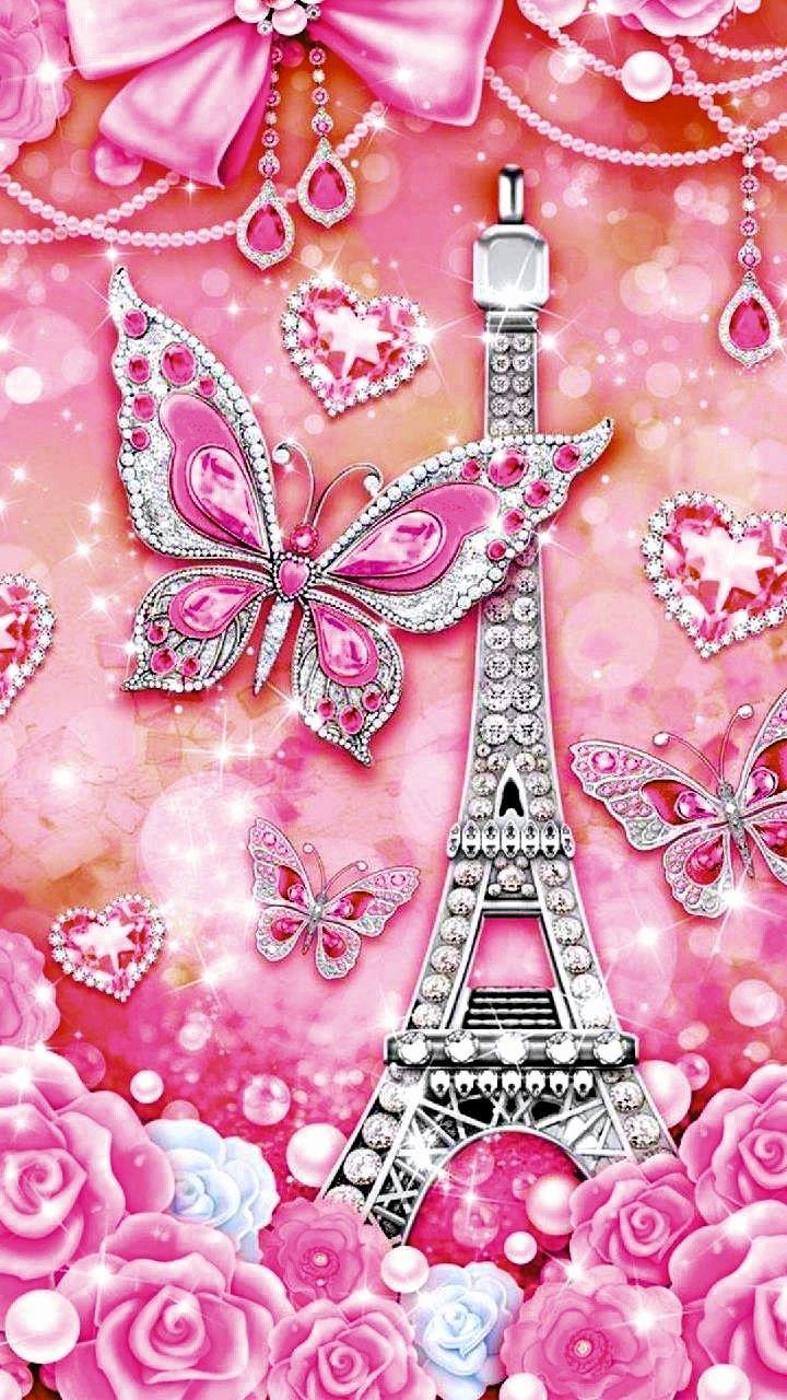 Pin by Marlene Gonzalez on PINK | Butterfly wallpaper ...