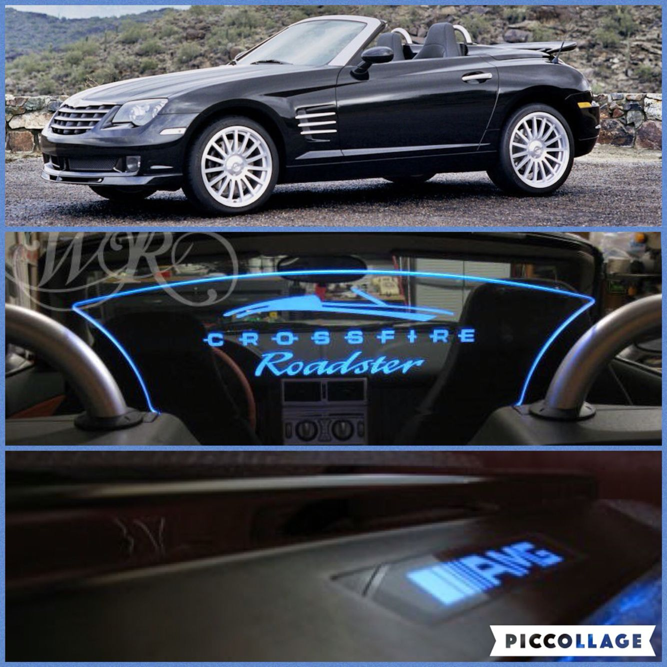 Chrysler Crossfire Accessories Custom Windrestrictor Brand Wind
