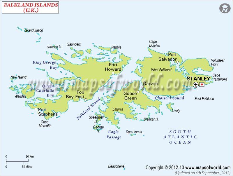 Islas Malvinas Falkland Mapa De Las Islas Malvinas Islas Mapas Mapa De America