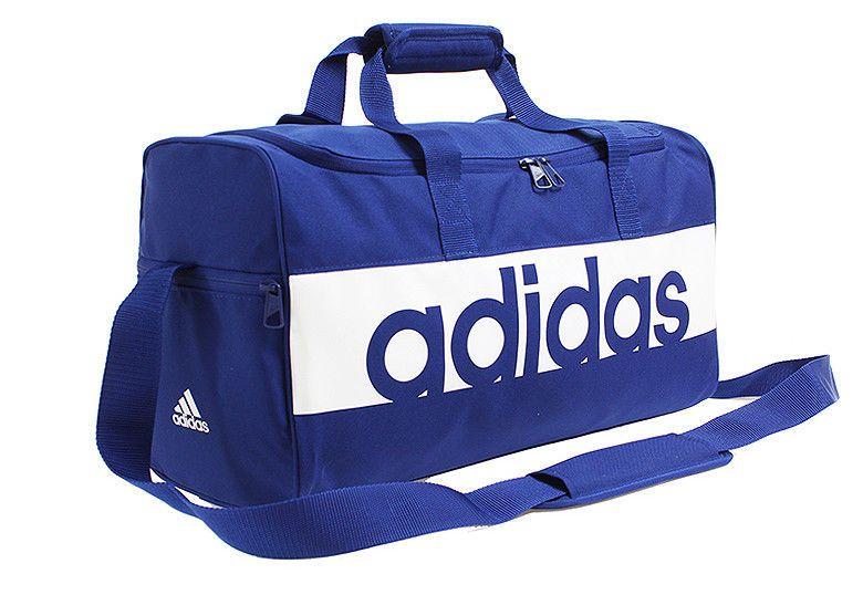 13c8d57844 adidas Linear Performance Team Bag Small Blue Sports Football Soccer NWT  DM7651 #adidas #DuffleGymBag