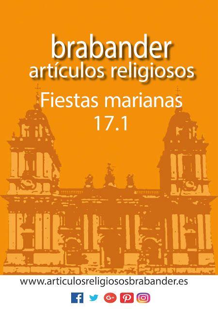 ae23903520e Catálogo de artículos religiosos para fiestas marianas.  https   www.articulosreligiososbrabander.