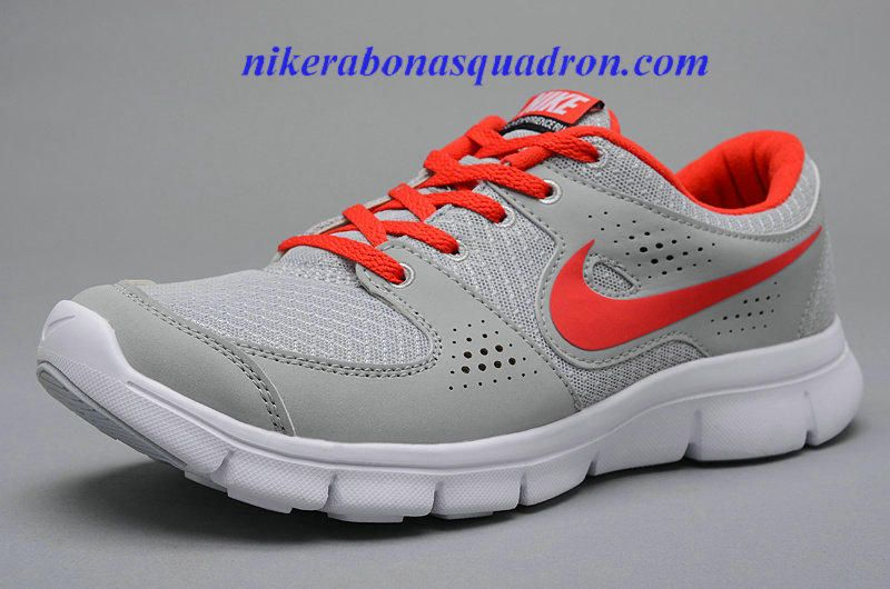 e96c385ca899 Wholesale 20113 Cheap Nike Flex Experience RN Mens Neutral Gray Siren Red  525762 061 Running Shoes