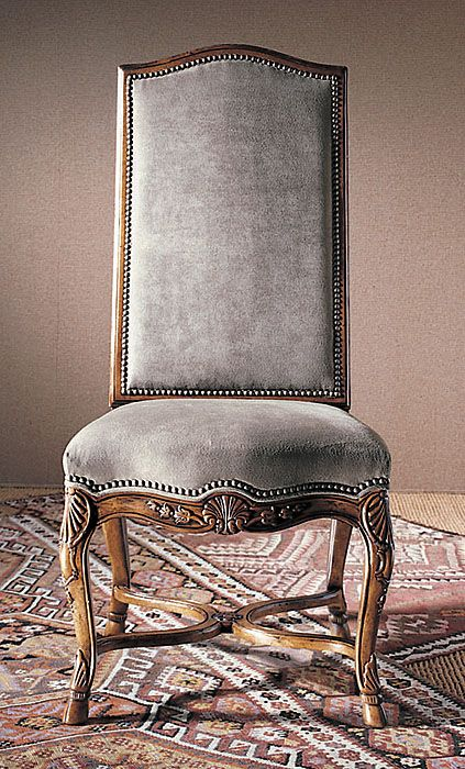 Century Chair 3223s Hooved French Side Chair Wood