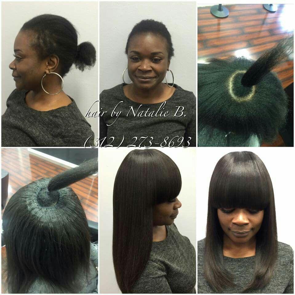 looks so natural | hair cut