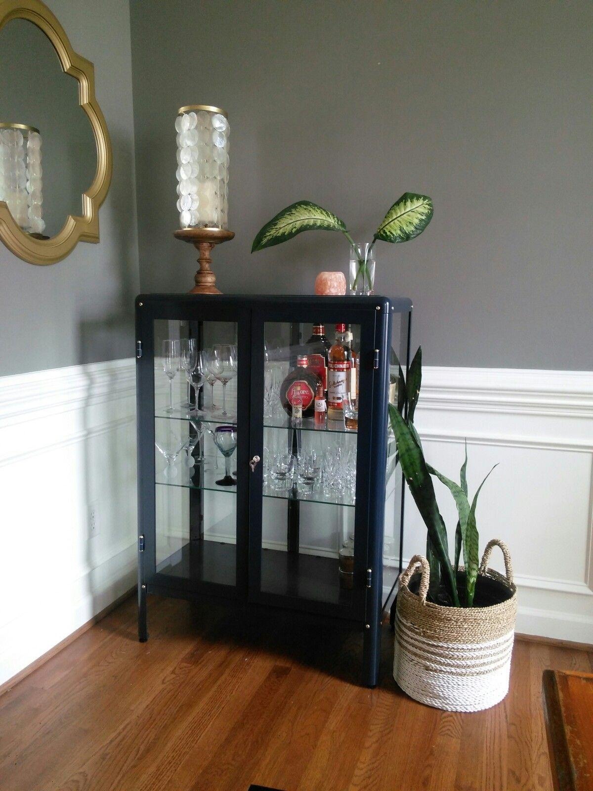 fabrikor glass door display cabinet  interior design