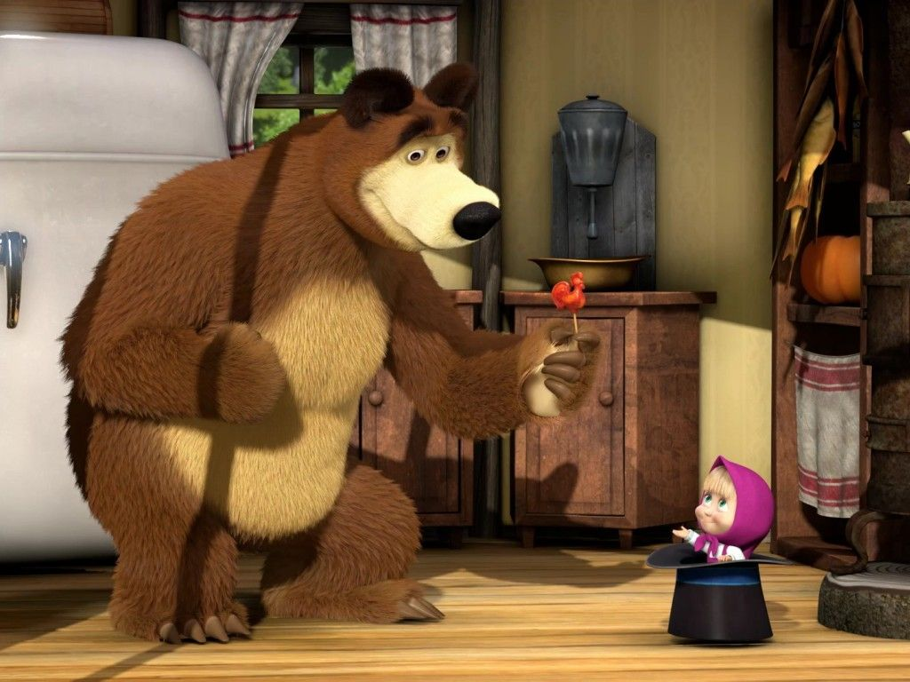 Masha And The Bear Wallpapers Amp Pictures Hd Wallpapers Sonja