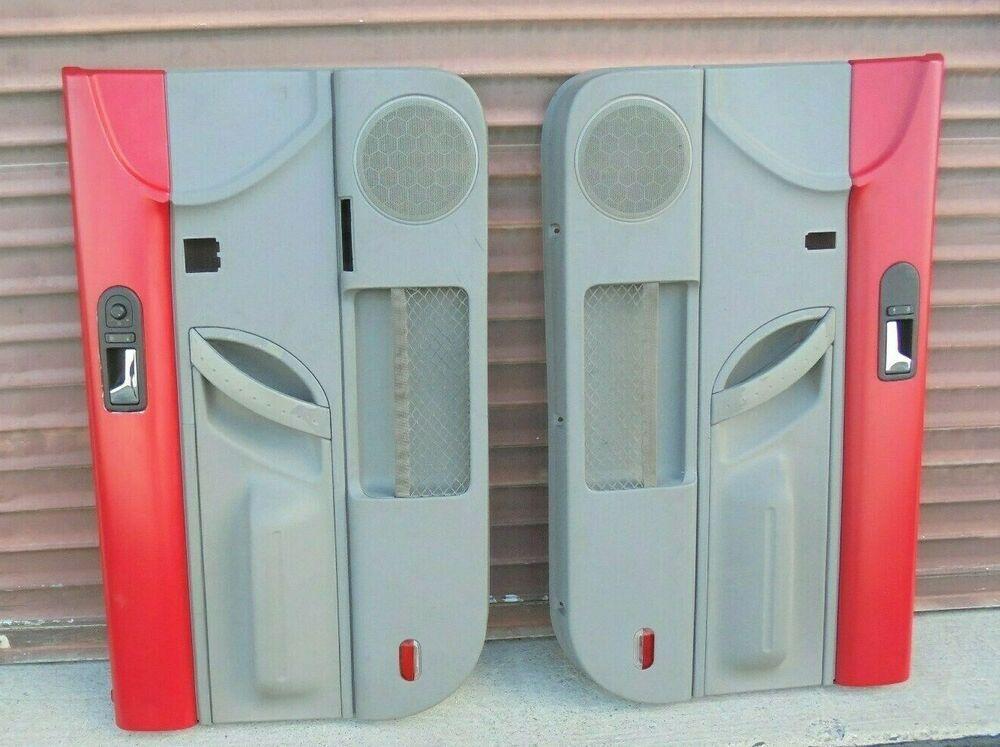 Ad Ebay 98 10 Vw Beetle Drivers Passenger Side Door Panels Nice Oem Panel Doors Side Door Vw Beetles