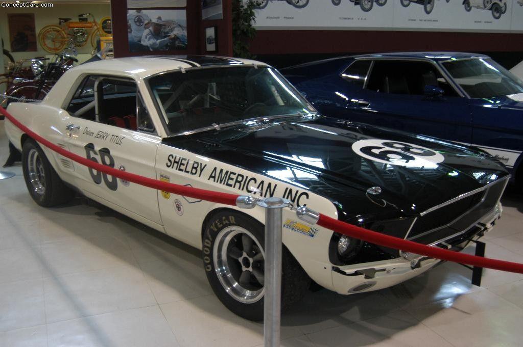 1967 Shelby Mustang GT 500 at the Cadillac Grand Prix   TA/Mustang ...