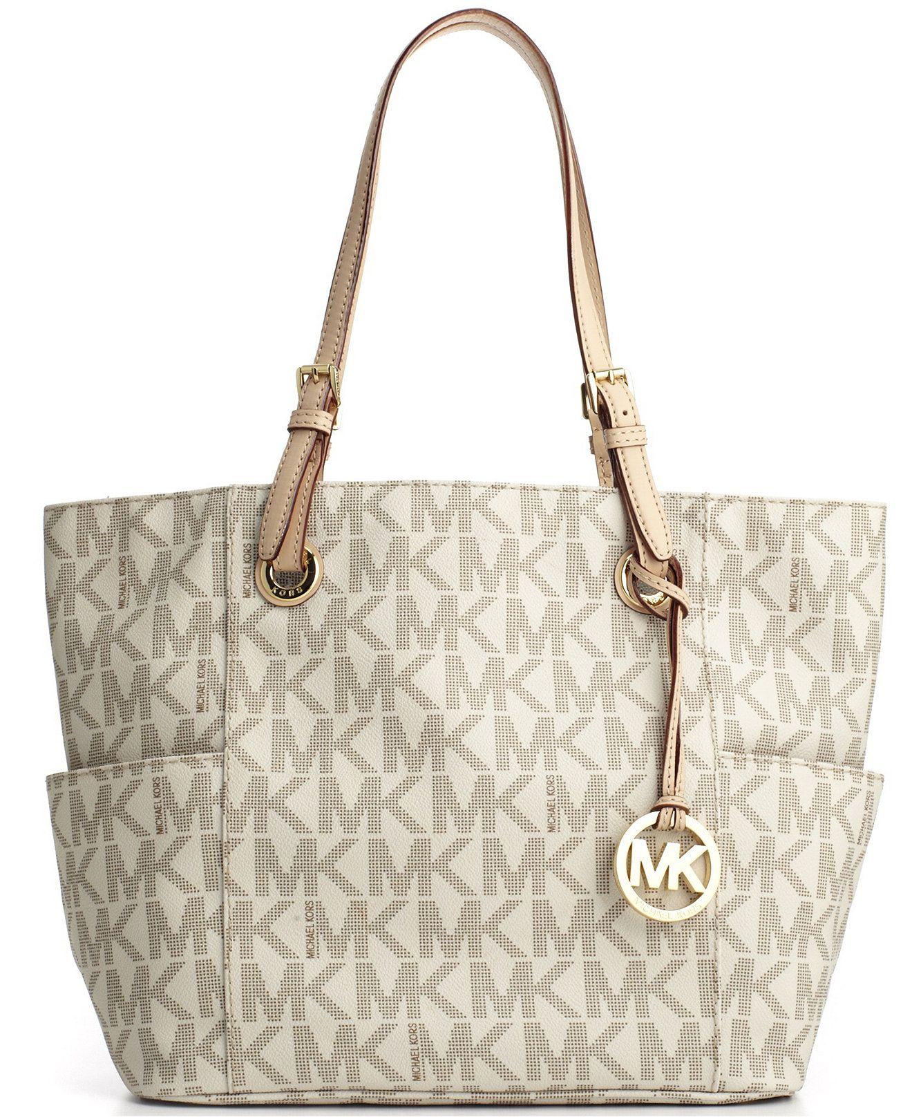 b3596df1c7d MICHAEL Michael Kors Signature Tote - Handbags & Accessories ...