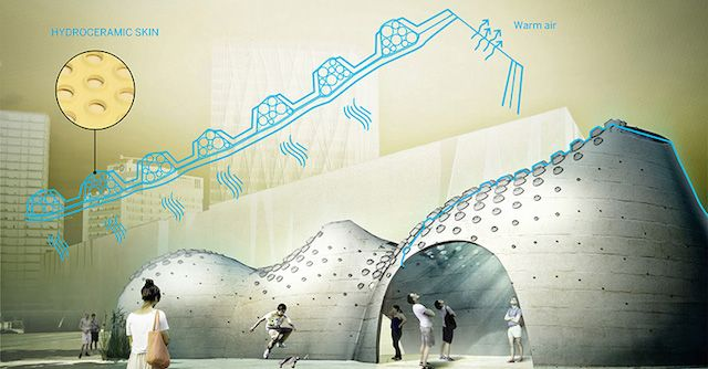 Hydroceramic Walls Could Cool Buildings By Sweating Like Human