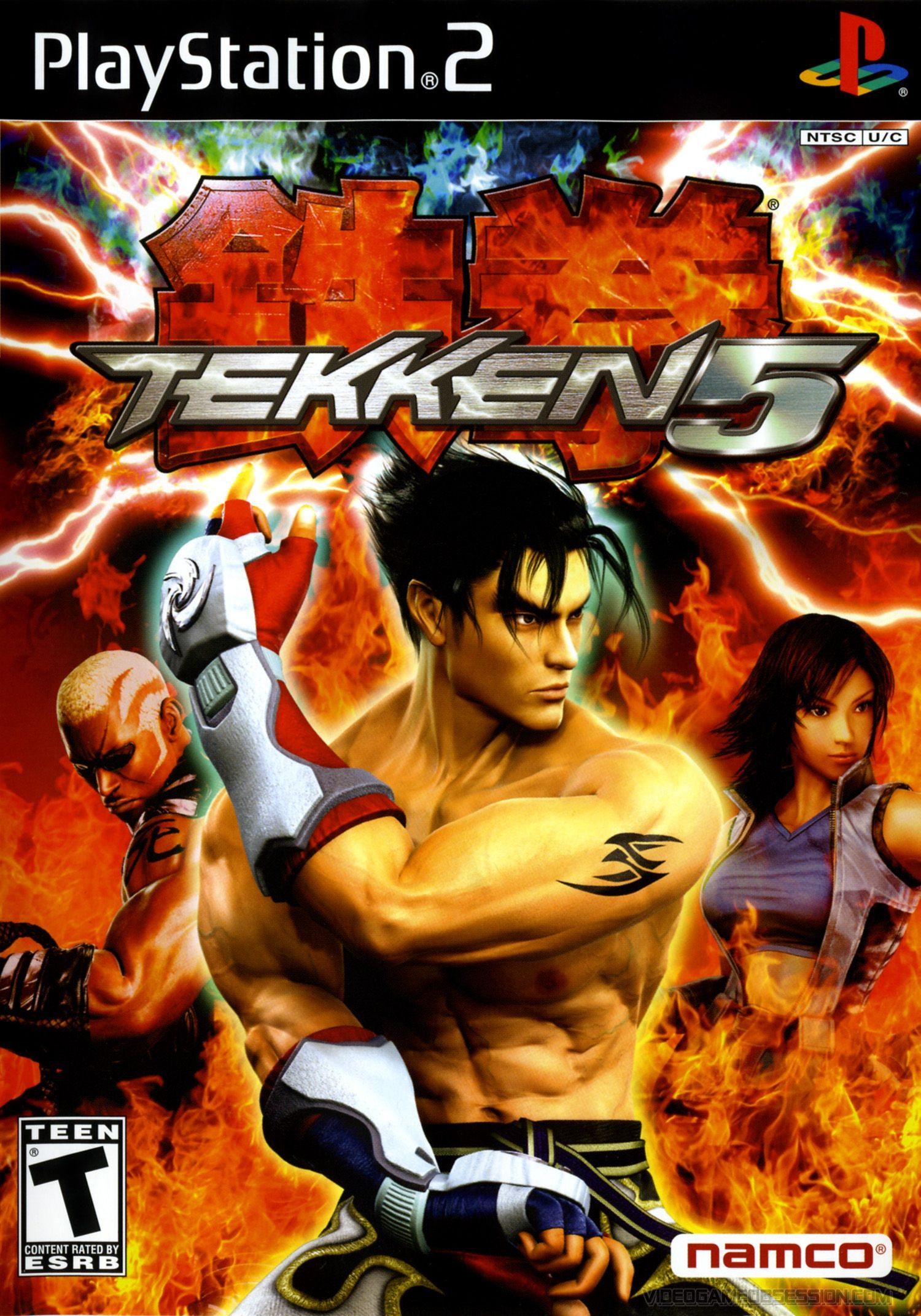 Tekken 5 Sony Playstation 2 Game With Images Pc Games Download