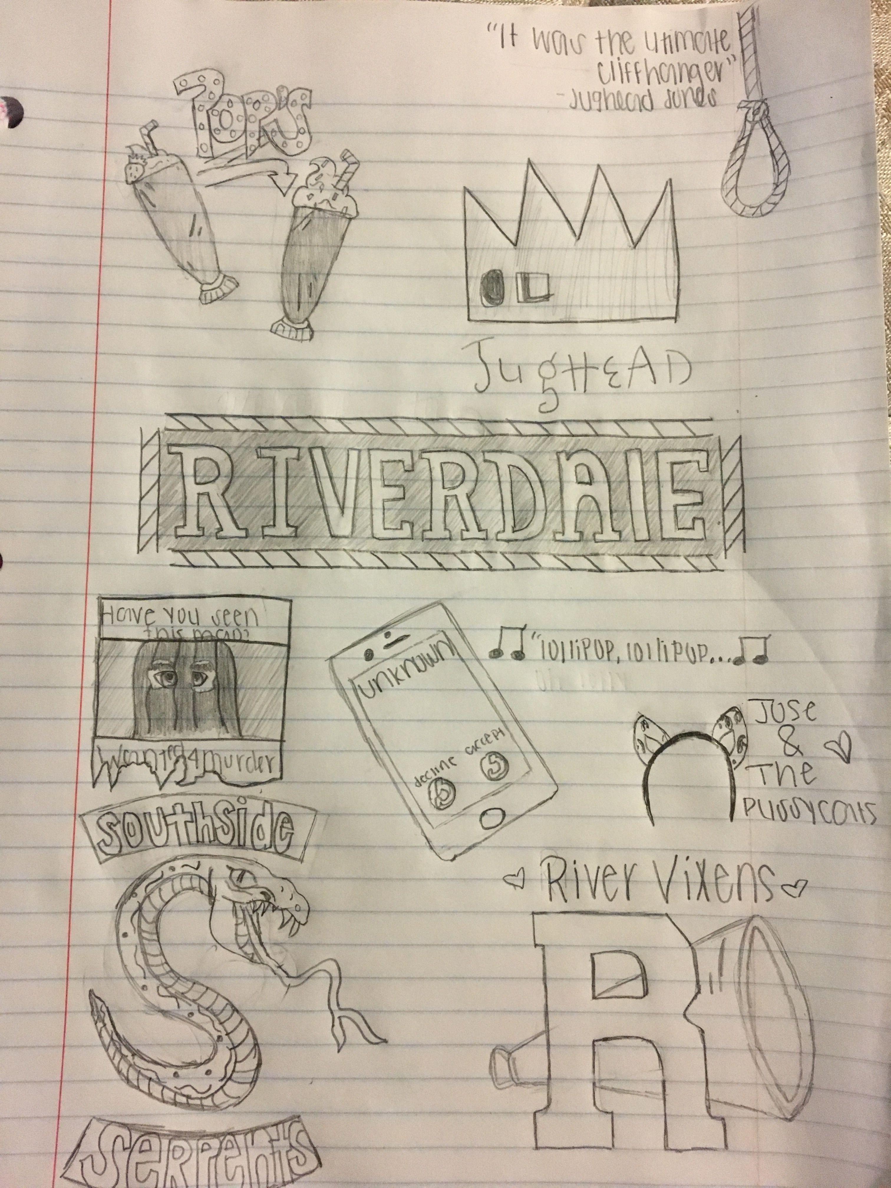 Riverdale Drawing Riverdale Riverdale Funny Riverdale Poster