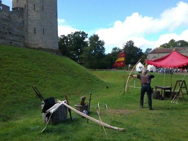 The archer at Warwick Castle