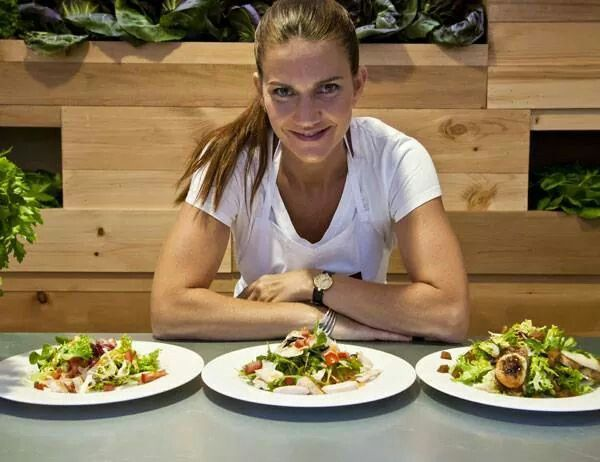 Samantha Vallejo Nágera Master Chef Chef Ensaladas