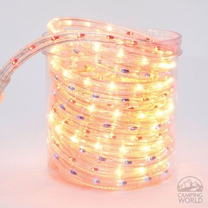 Awning rope light red white blue comping toilet and shower awning rope light red white blue aloadofball Gallery