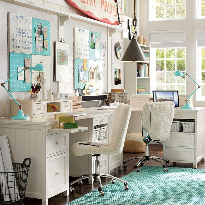 beadboard smart drawer cubby corner desk sewing studio girls bedroom furniture desk hutch. Black Bedroom Furniture Sets. Home Design Ideas