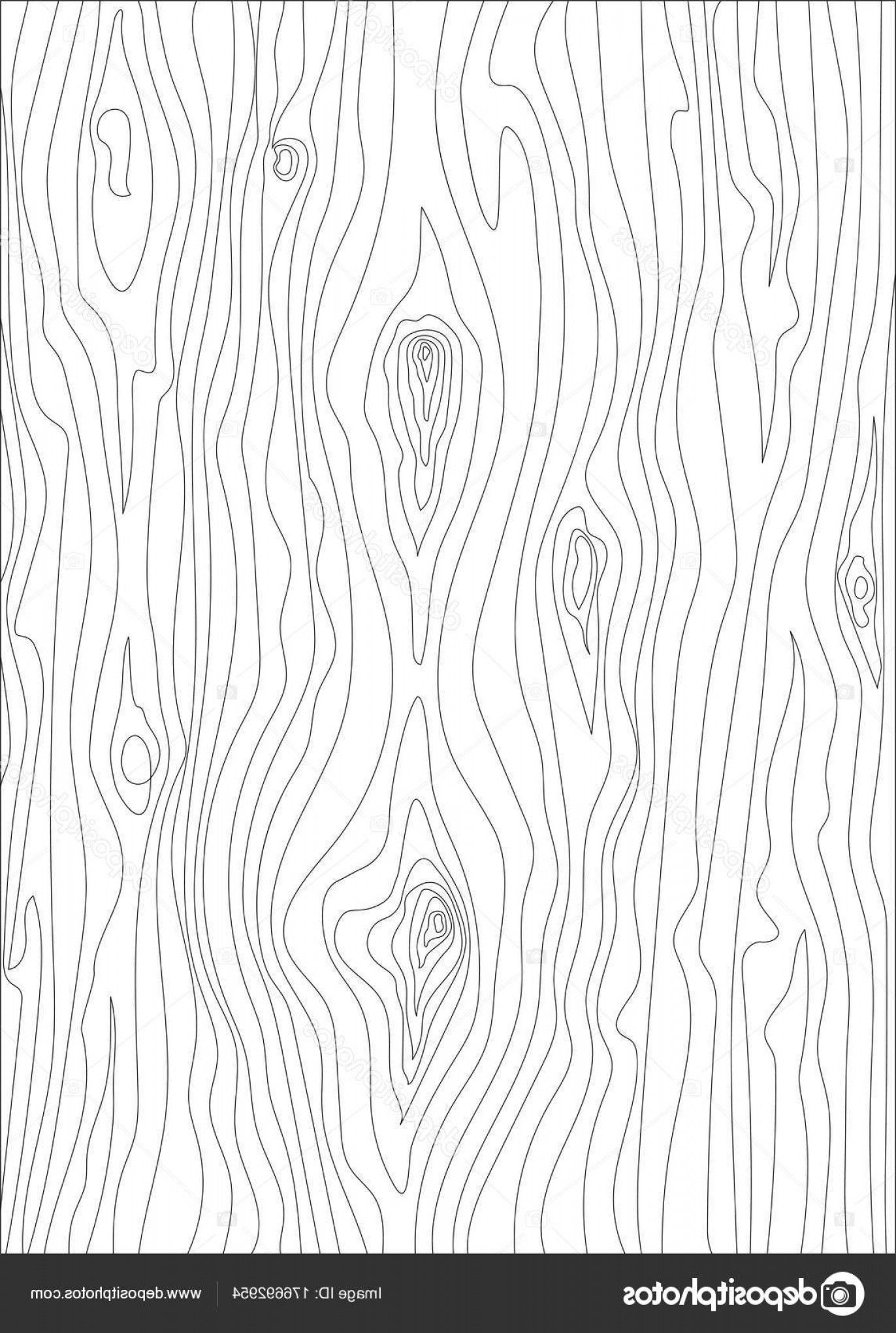 Wood Grain Vector Art Stock Illustration Wood Texture Vector Isolated Circuit Wood Illustration Wood Grain Vector Texture Drawing