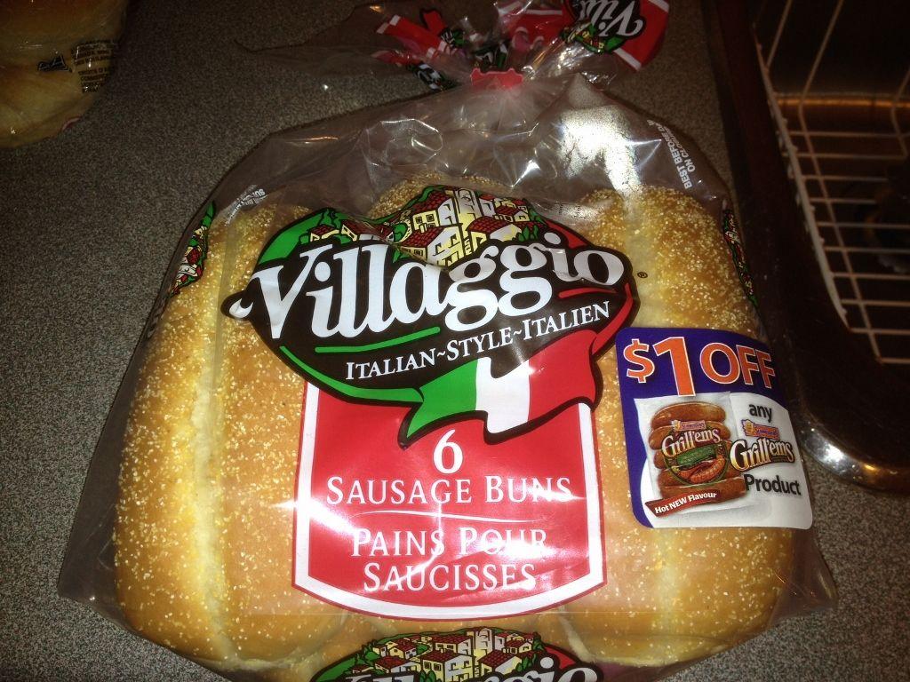 Villaggio Hot Dog/Sausage Buns
