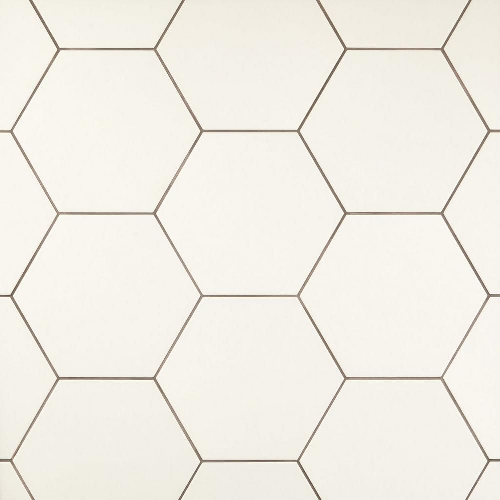 Opal White Hexagon Porcelain Tile Porcelain Tile White Hexagon Tile Bathroom Hexagon Tile Bathroom