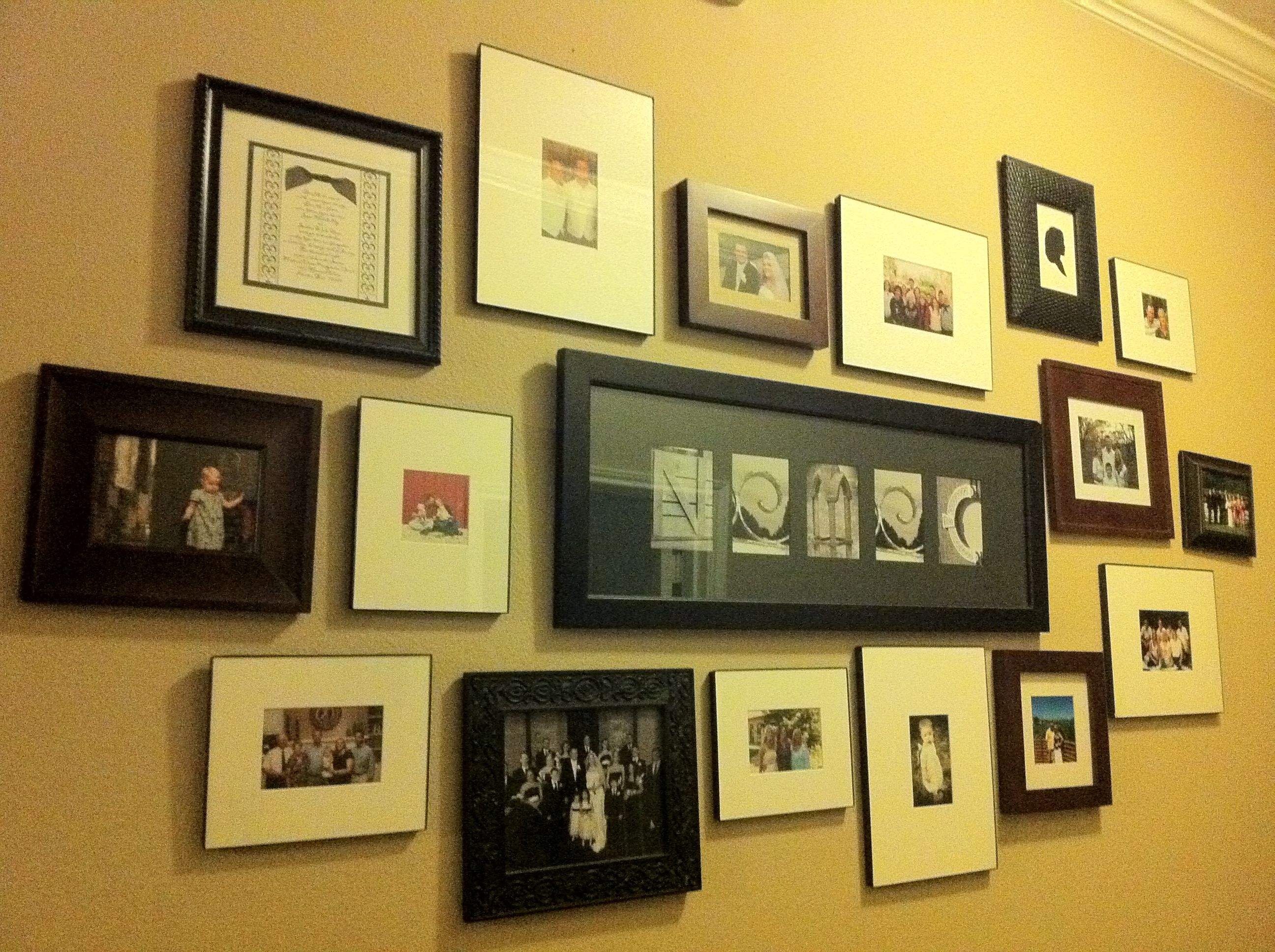 Photo wall collage | Wall Collages | Pinterest | Wall collage, Photo ...