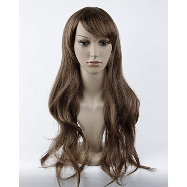 Dreamworld® Stunning Long Natural Curly Wig wig Cap
