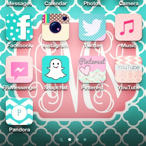 Decorate your app icons with CocoPPa! So pretty!  App icon